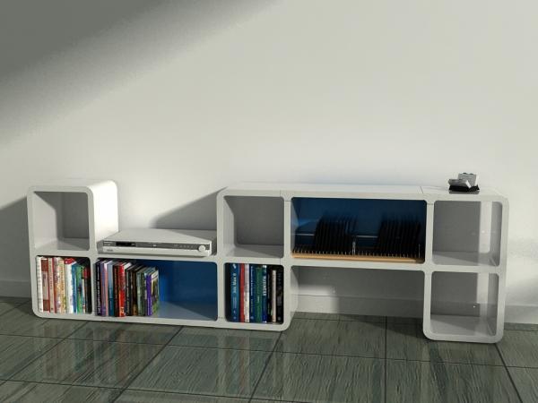 cumix designregal ecka regalsystem flexibel individuell erweiterbar stab. Black Bedroom Furniture Sets. Home Design Ideas